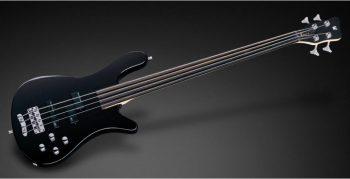 Foto: Warwick Rockbass Streamer Fretless Nirvana Black Trans Satin - Front