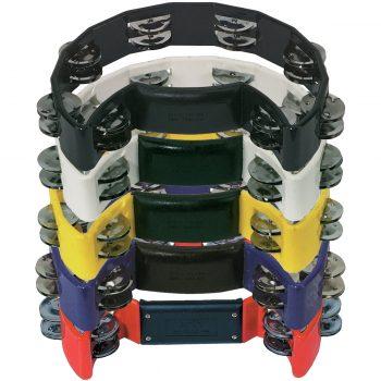 Foto: Schellenringe Tambourin verschiedene Farben - Innenseiten