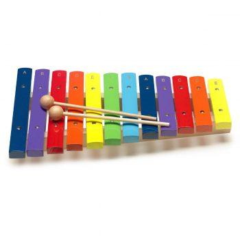 Foto: Xylophone Holz mit Schlegel - Top