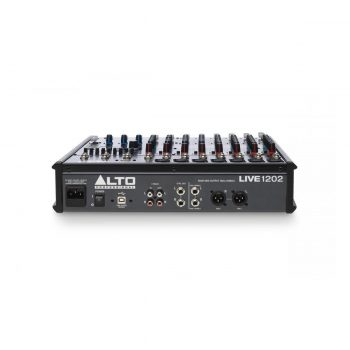 Foto: Alto Pro Live 1202 Mischpult Mixer - Rückseite