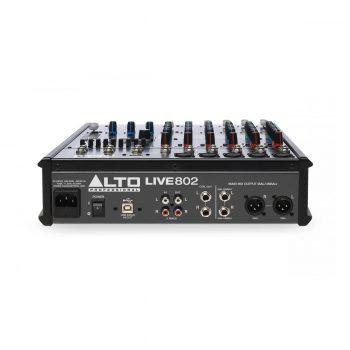 Foto: Alto Pro Live 802 Mischpult Mixer - Rückseite