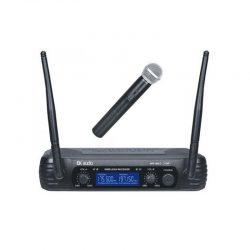 Funkmicrosender mit Handheld-Mikrofon – Front