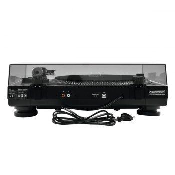 Foto: Omnitronic BD-1390 Plattenspieler - Rückseite