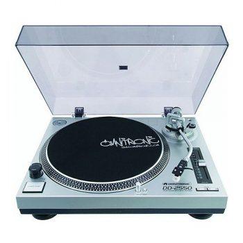 Foto: Omnitronic DD 2250 Plattenspieler - Top und Front