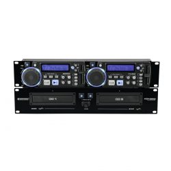 Foto: Omnitronic XCP-2800 Doppel-CD-Player - Front