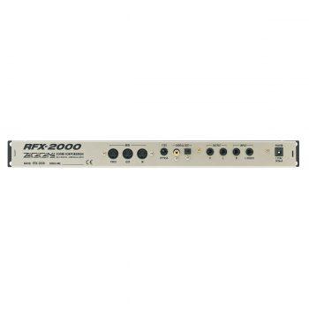 Foto: RFX2000 Effektgerät - Rückseite