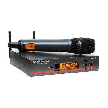 Foto: Sennheiser EW 135 Sendeanlage mit Funkmikrofon - Front