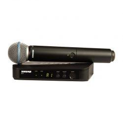 Foto: Shure Sender mit Handheld-Mic - Front