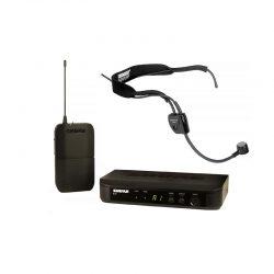 Foto: Shure Sender mit Headset - Front