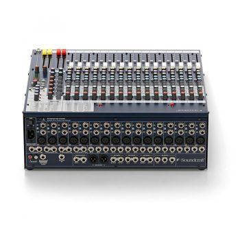 Foto: Soundcraft FX-16-II Mischpult Mixer - Rückseite