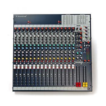 Foto: Soundcraft FX-16-II Mischpult Mixer - Top links