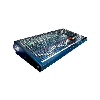 Foto: Soundcraft Spirit LX7-II-24 Mischpult Mixer - Top linke Seite