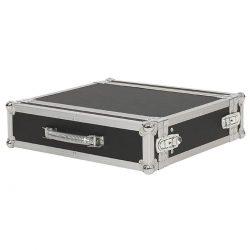 """Foto: Standard-Case 2HE 19"""" - Front-, Top- und Seitenansicht"""