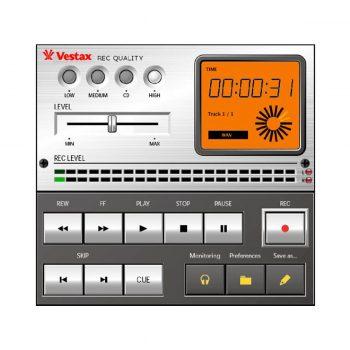 Foto: Vestax Handytrax Plattenspieler - Detailansicht Software-Interface