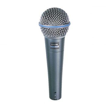 Foto: Shure Beta 58A Mikrofon - Front