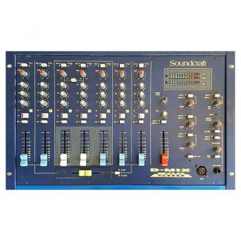Foto: Soundcraft D-Mix 500 DJ-Mixer - Draufsicht