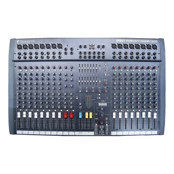 Foto: Soundcraft Powerstation 1200 Powermixer - Draufsicht