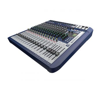 Foto: Soundcraft Signature 16 Studio & Live-Mixer - Anischt Top, seitlich