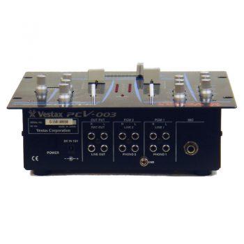Foto: Vestax PCV-003 DJ-Mixer - Rückseite