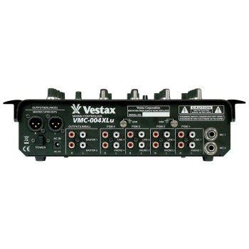 Foto: Vestax VMC-004XLu DJ-Mixer - Rückseite