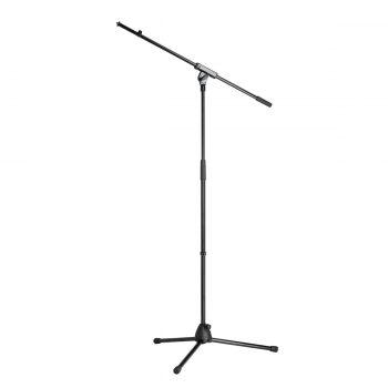Foto: K&M Mikrofonstativ mit Trittschalldämpfung, schwarz