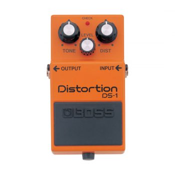 Foto: Boss DS-1 Distortion Bodeneffekt Effektpedale - Top