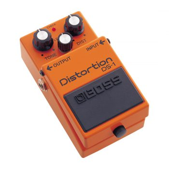 Foto: Boss DS-1 Distortion Bodeneffekt Effektpedale - Top und links