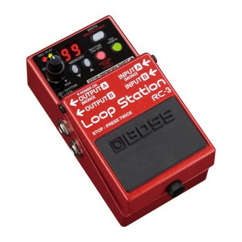 Foto: Boss RC-3 Loop Station Bodeneffekt Effektpedal - Top und links