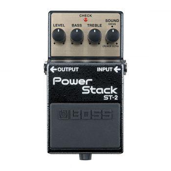 Boss ST-2 Power Stack Bodeneffekt Effektpedale - Top