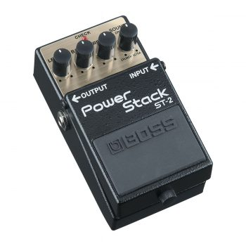 Foto: Boss ST-2 Power Stack Bodeneffekt Effektpedale - Top und links