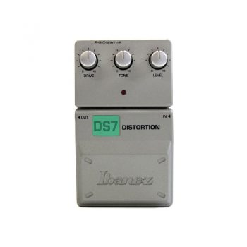 Foto: Ibanez DS-7 Distortion Bodeneffekt Effektpedal - Top