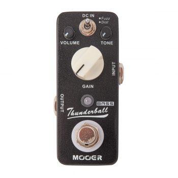 Foto: Mooer Thunderball Bodeneffekt Effektpedal - Top
