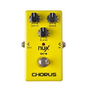 Foto: NUX CH-3 Vintage Chorus Bodeneffekt Effektpedal - Top