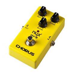Foto: NUX CH-3 Vintage Chorus Bodeneffekt Effektpedal - Top rechts