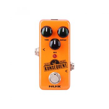 Foto: NUX Digital Delay Konsequent Bodeneffekt Effektpedal - Top
