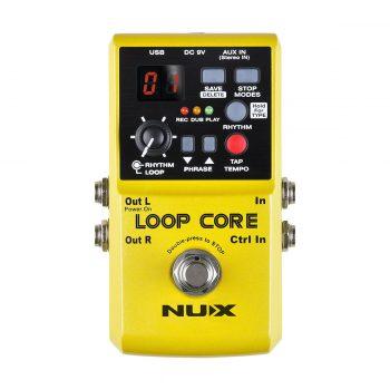 Foto: NUX Loop Core Bodeneffekt Effektpedal - Top