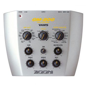 Foto: Zoom GM200 Guitar Amp Modeler - Top