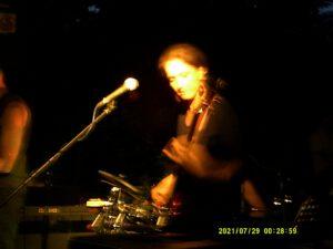 Bassistin Conny von Gleis3eck